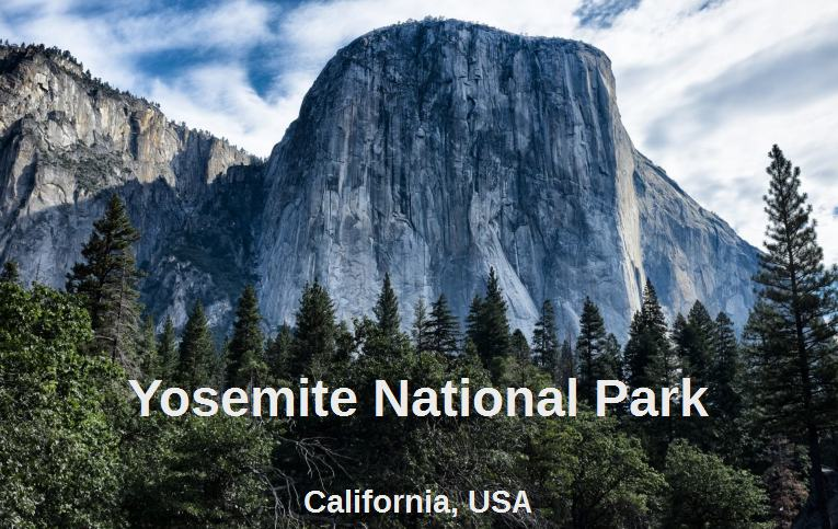 parc national de Yosemite Californie USA