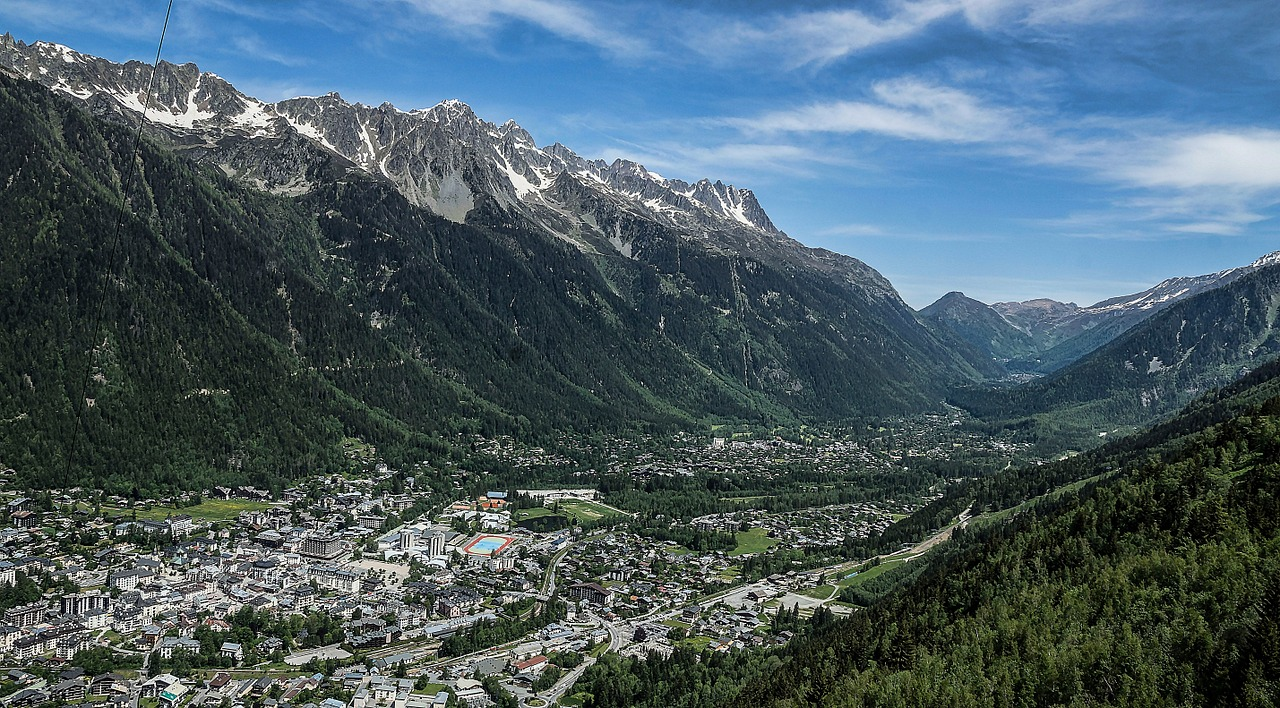 Vallée de Chamonix Photo Kausdie via Pixabay